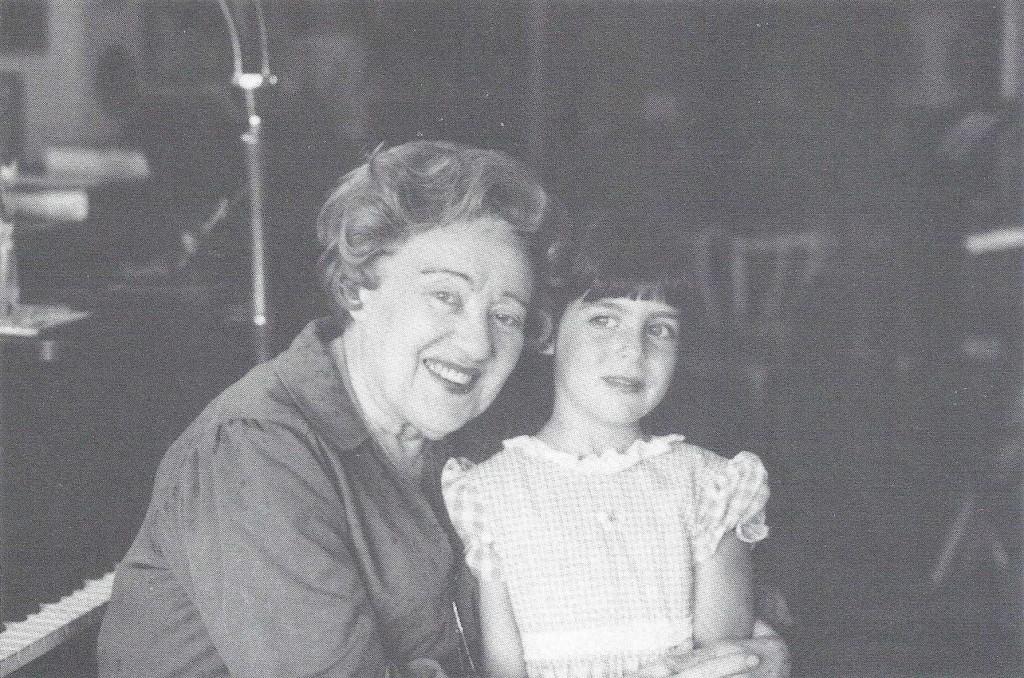 Warshaw with Piano Teacher Nadia Reisenberg