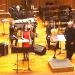 With Boston Modern Orchestra Project 2012